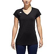 Womens Adidas Hilo Jersey Short Sleeve Technical Tops