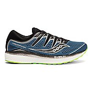 Mens Saucony Triumph ISO 5 Running Shoe - Blue/Black 9.5