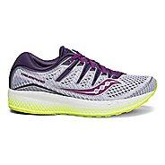 Womens Saucony Triumph ISO 5 Running Shoe - White/Purple 5.5