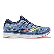 Womens Saucony Triumph ISO 5 Running Shoe - Blue/Multi 7.5
