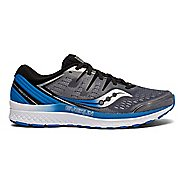 0cc9a37eed9 Mens Saucony Guide ISO 2 Running Shoe - Grey Blue 14