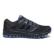 Womens Saucony Peregrine ISO Trail Running Shoe - Gunmetal 12