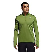 Mens Adidas Response Sweatshirt Long Sleeve Technical Tops