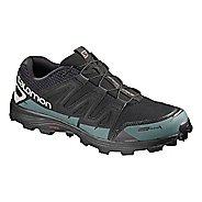 Salomon Speedspike CS Trail Running Shoe - Black/Silver/Blue 9