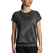 Womens Brooks Array Short Sleeve Technical Tops