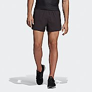 Mens Adidas Supernova Split Shorts Lined Technical Tops