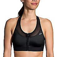 Womens Brooks Fast Forward Zip Sports Bra