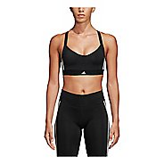 Womens adidas All Me 3 Stripe Racerback Bras
