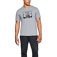 Mens Under Armour UA Boxed Sportstyle Short Sleeve Technical Tops
