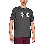Mens Under Armour UA Big Logo Short Sleeve Technical Tops