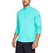 Mens Under Armour Siro Half-Zips and Hoodies Technical Tops