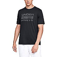 Mens Under Armour UA Team Issue Wordmark Short Sleeve Technical Tops