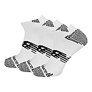 New Balance No Show Running 3 Pair Socks