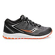 Kids Saucony Guide ISO 2 Running Shoe - Black/Grey 7Y