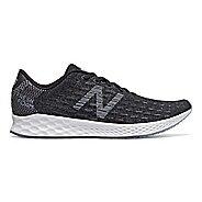 Mens New Balance Fresh Foam Zante Pursuit Running Shoe - Black/White 13