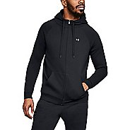 Mens Under Armour Rival Fleece Half-Zips & Hoodies Technical Tops
