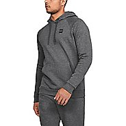 Mens Under Armour Rival Fleece Pull Over Half-Zips and Hoodies Technical Tops