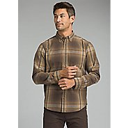 Mens Prana Broderick Long Sleeve Technical Tops