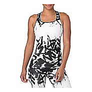 Womens ASICS Breathable Fitted Sleeveless & Tank Technical Tops
