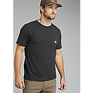 Mens Prana Dirtbag Pocket Tee Slim Short Sleeve Technical Tops