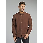 Mens Prana Graden Slim Long Sleeve Technical Tops