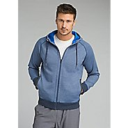 Mens Prana Halgren Urban Full Zip Half-Zips and Hoodies Technical Tops