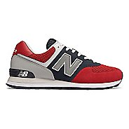 Mens New Balance 574 Pebbled Sport Casual Shoe