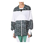 Womens ASICS LP Long Hoody Wind Running Jackets