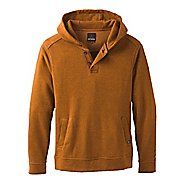 Mens Prana Trawler Hooded Henley Half-Zips & Hoodies Technical Tops