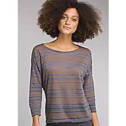 Womens Prana Bacall Long Sleeve Technical Tops