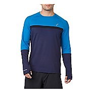 Mens ASICS Thermopolis Plus Long Sleeve Technical Tops