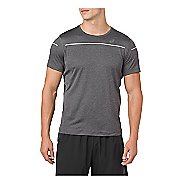 Mens ASICS Lite-Show Short Sleeve Technical Tops