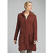 Womens Prana Elsin Sweater Coat Long Sleeve Technical Tops