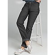 Womens Prana Lined Boyfriend Jean Pants