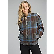Womens Prana Showdown Bomber Long Sleeve Jackets