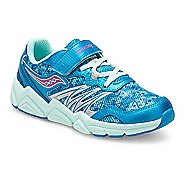 Kids Saucony Flash A/C Running Shoe - Turquoise 11C