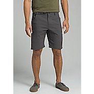 Mens Prana Stretch Zion 10-inch Inseam Unlined Shorts