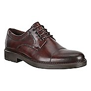 Mens Ecco Newcastle Cap Toe Tie Casual Shoe