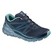 Womens Salomon Sense Max 2 Trail Running Shoe - Navy Blue 11