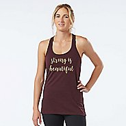 Womens R-Gear Strong is Beautiful Graphic Sleeveless & Tank Technical Tops