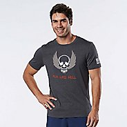 Mens R-Gear Run Like Hell Tee Short Sleeve Technical Tops