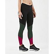 Womens 2XU Fitness Mid Color Block Tights & Leggings Pants