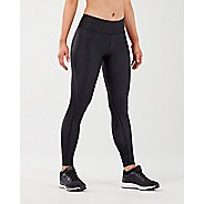 Womens 2XU Print Mid-Rise Comp Tights & Leggings Pants