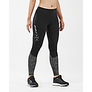 Womens 2XU Ref Run Thermal Tight w Back Stow Tights & Leggings Pants