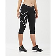 Womens 2XU Thermal Comp 3/4 Tights & Leggings Pants