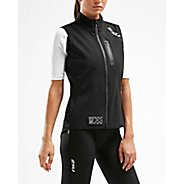 Womens 2XU X:C2 Winter Cycle Gillet Sleeveless & Tank Technical Tops
