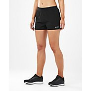 Womens 2XU XVENT 4-inch Free Unlined Shorts