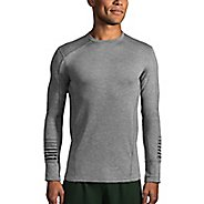 Mens Brooks Notch Thermal Long Sleeve Technical Tops