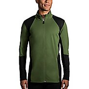 Mens Brooks Turbine Full Zip Half-Zips and Hoodies Technical Tops