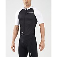 Mens 2XU Elite Cycle Jersey Short Sleeve Technical Tops